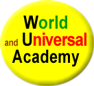 Logo World and Universal Academy (FR)