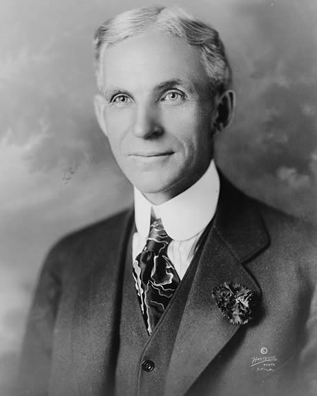 Portrait of Henry Ford (ca. 1919), Hartsook, photographer
