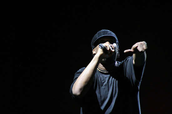 Rapping & Beatbox (photo by Wade Grayson uit Mississippi, United States) KRS-One performing in 2007.