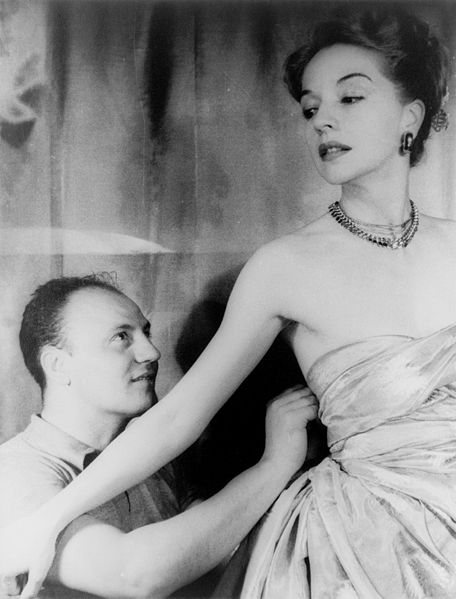 Pierre Balmain and Ruth Ford, photographed by Carl Van Vechten, November 9, 1947.