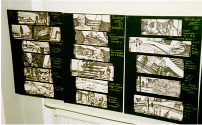 Storyboard -James Bond