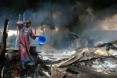 Akintunde Akinleye (Nigeria), World Press Photo of the Year 2007 - 1st Prize singles spot news