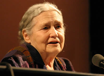 Doris Lessing (United Kingdom), Prix Nobel 2007