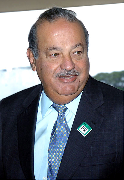 Mexican businessman Carlos Slim Helú (photo by José Cruz/ABr).