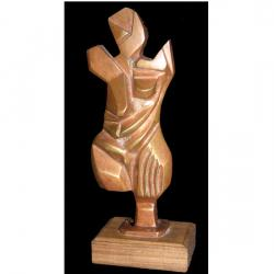 B. Boubacar, nu cubiste (site: web site). PRIX DE BRONZE-aout 2007- du 2eme art: SCULPTURE / The Bronze Prize-August of the 11th Art: SCULPTURE / Derde prijs, sculptuur