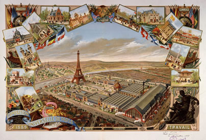 L'exposition universelle de Paris 1889 de J. M. Schomburg